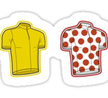 Colours of the TDF Sticker
