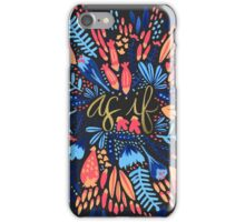 As If – Charcoal iPhone Case/Skin