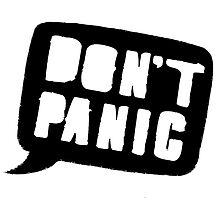 Don't Panic by bennettart