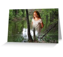 Lake fairy Greeting Card