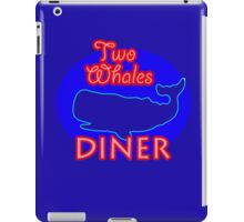 """Two Whales Diner """"So Damn Touristy"""" iPad Case/Skin"""