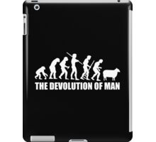 The Devolution of Man - Fear And Clothing iPad Case/Skin