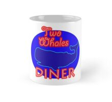 "Two Whales Diner ""So Damn Touristy"" Mug"