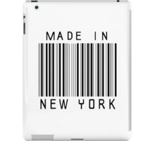 Made in New York iPad Case/Skin