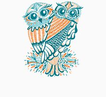 Owls – Teal & Orange Unisex T-Shirt