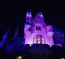 Sleeping Beauty's Castle by tlogue18