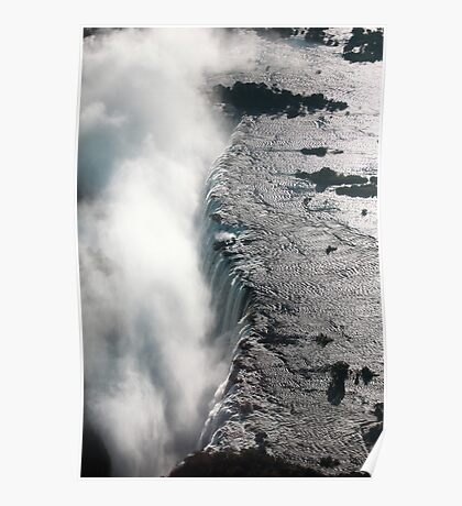 """Victoria falls """"The smoke that thunders"""" Poster"""