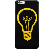 Attention Lightbulb iPhone Case/Skin