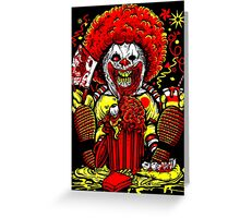 Mczombie Greeting Card