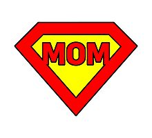 Super mom Photographic Print