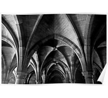 University of Glasgow - Cloisters Poster