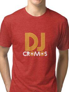 DJ Cromos. Tri-blend T-Shirt