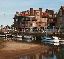 Blakeney Quay North Norfolk by Paul Pasco