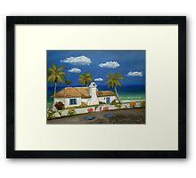 Sandy Point Framed Print