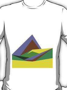 Green Hills, Generative art, Data Visualisation T-Shirt