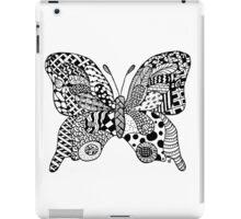 little zentangle butterfly iPad Case/Skin