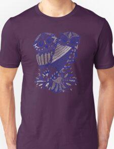 Owls – Silver & Navy T-Shirt