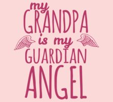 My Grandpa is My Guardian Angel Baby Tee