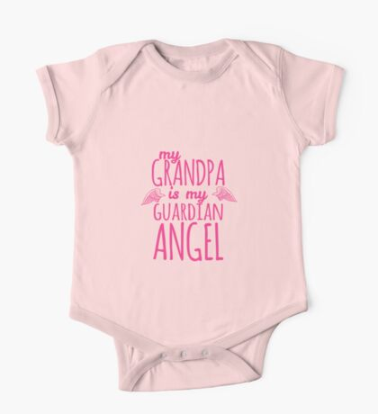 My Grandpa is My Guardian Angel One Piece - Short Sleeve