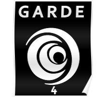 Lorien Legacies - Garde Number Four Symbol Poster