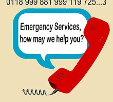 0118 999 881 999 119 7253 IT Crowd Emergency Services by Charlottesw3b