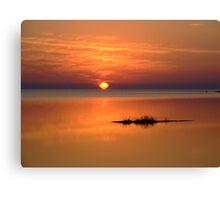 Sunset in Tarpon Springs Canvas Print