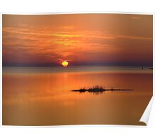 Sunset in Tarpon Springs Poster