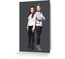 "Lost Girl - Bo x Tamsin ""Valkubus"" Greeting Card"