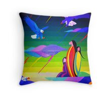 Thunder Spirits Throw Pillow