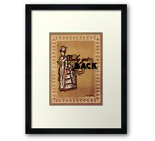 Baby Got Back Framed Print