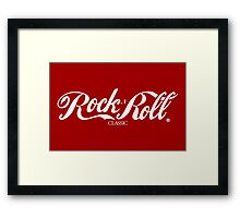 Sex, Coke, Rock & Roll Framed Print