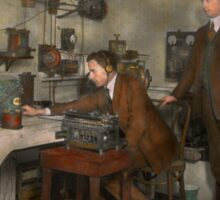 Steampunk - The wireless apparatus - 1905 Sticker