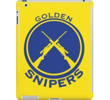 Golden Snipers (Guns) iPad Case/Skin