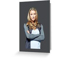 Lost Girl - Lauren Greeting Card