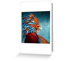 Free-Spirited Greeting Card