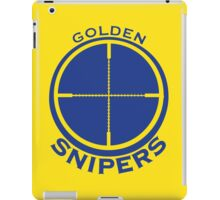 Golden Snipers (Crosshairs) iPad Case/Skin