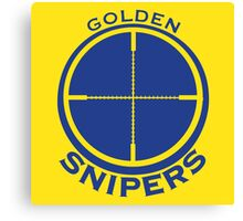 Golden Snipers (Crosshairs) Canvas Print