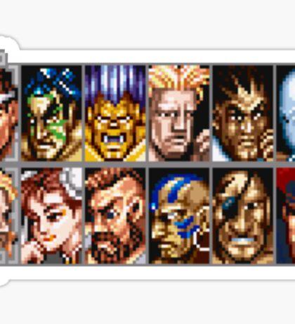 World Warriors Sticker