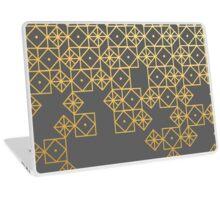 Geometric Gold Laptop Skin