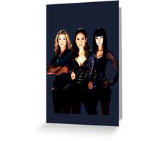 Lost Girl - Lauren x Bo x Kenzi Greeting Card