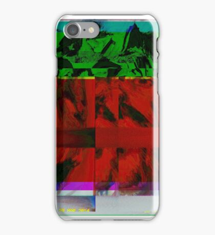The Glitch previously known as Thor iPhone Case/Skin