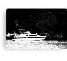 Crusin' on the Lake Canvas Print