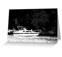 Crusin' on the Lake Greeting Card