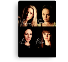 Women of Lost Girl Canvas Print