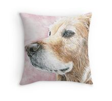 Faithful Companion - Labrador Throw Pillow