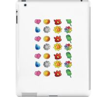 Pokemon Badges iPad Case/Skin