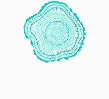 Turquoise Tree Rings Unisex T-Shirt