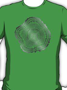 Silver Tree Rings T-Shirt