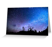 Cosmic Kind Of Night Greeting Card