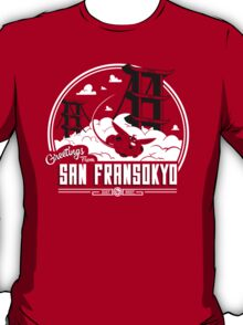 Greetings from San Fransokyo T-Shirt